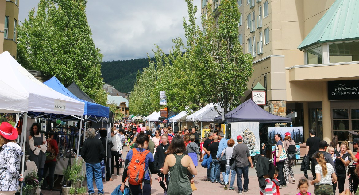 Farmers Market by the Fairmont Hotel