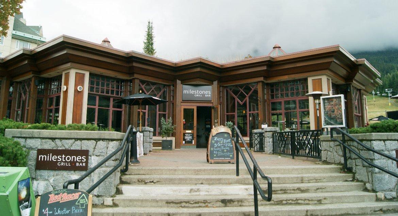 Whistler's Milestones Restaurant