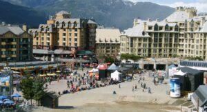 Whistler Ski and Snowboard Festival in Spring