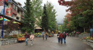 Whistler Village in Autumn