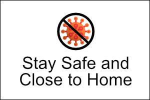 COVID-19 Stay Safe Banner