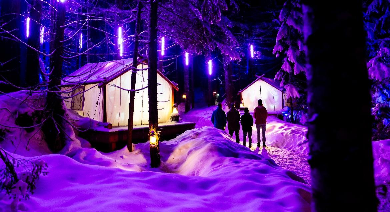 Vallea Lumina in Winter