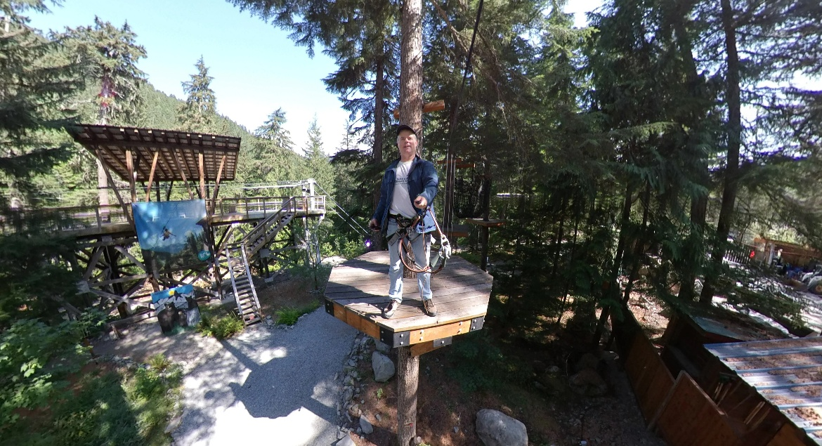 Whistler Ropes Course