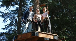 Ropes Course Fun in Whistler